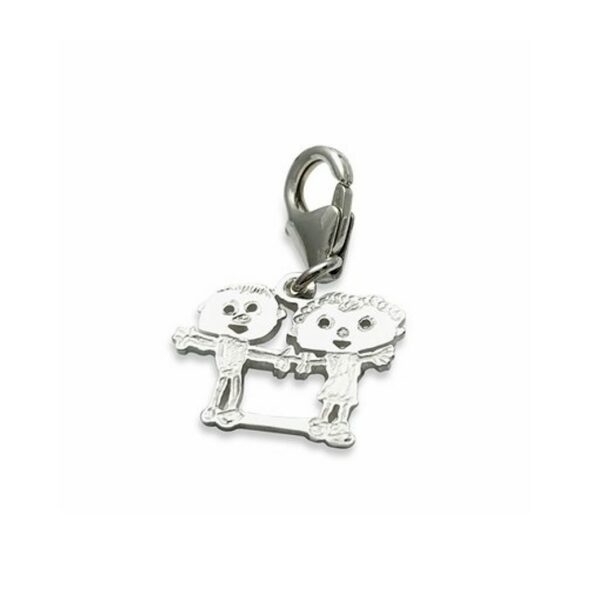 clip on bail to make custom charm movable