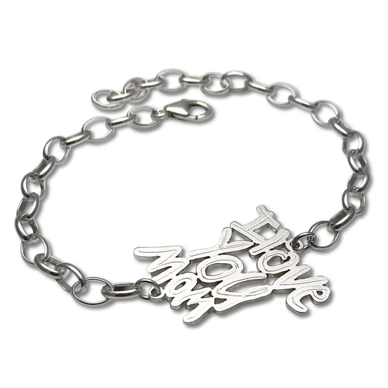 i love you mom bracelet