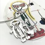 Extremely Happy, Coolest artwork jewelry using childrens illustrations of the world