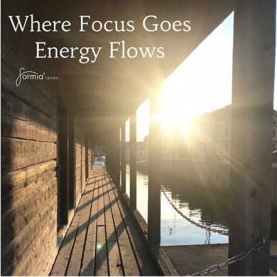 Where focus goes energy flows , food for throughts