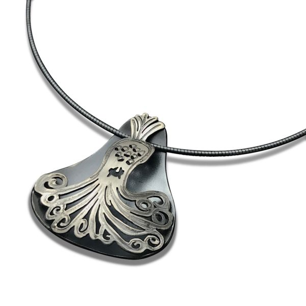 Spooky style necklace halloween gift for parents,