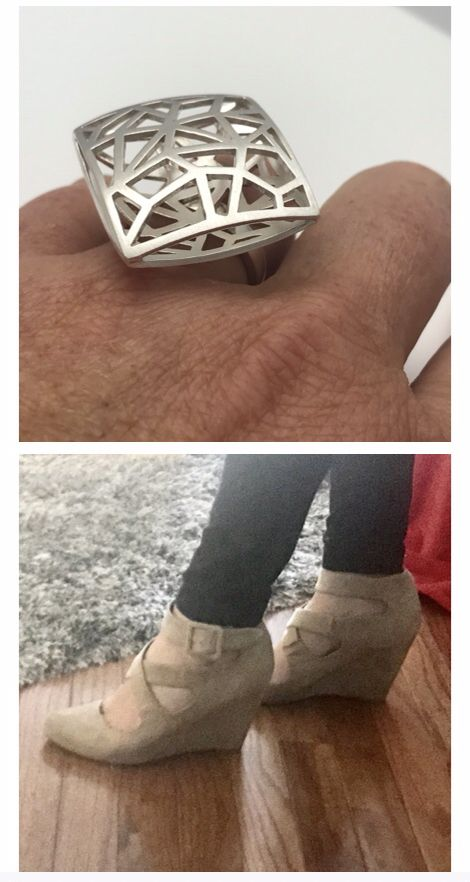 Fabulous style That ring and those shoes