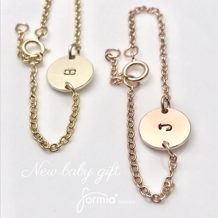 new baby girl gift bracelet for a babys wrist