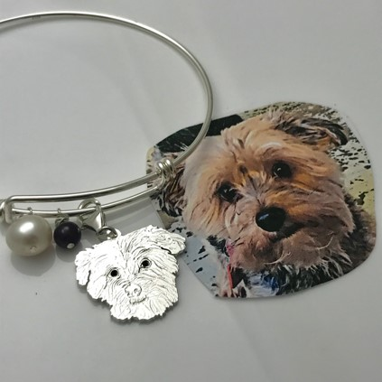 Furry friend pet bracelet