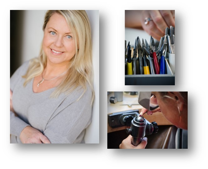 Formia Design Jewelry designer and goldsmith Mia van Beek makes custom jewelry