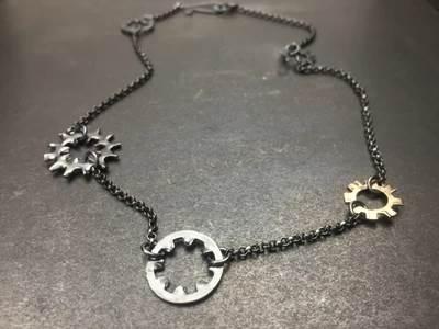 Tavia brown Metal jewelry for everyone