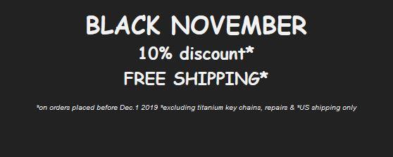 Black november discount 2019