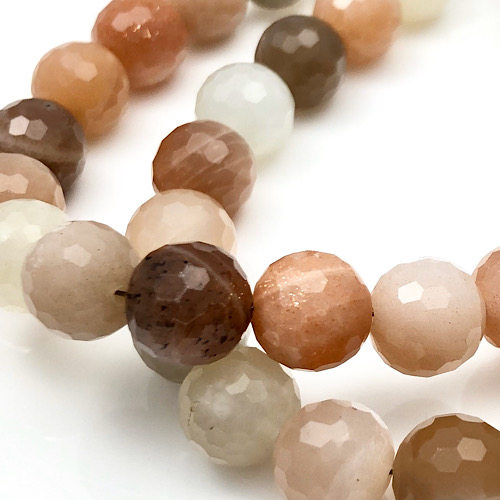 Moonstones shows off its sparkle inside every bead