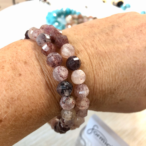 Red Quartz known for removing negativity and also transforms it into positivity