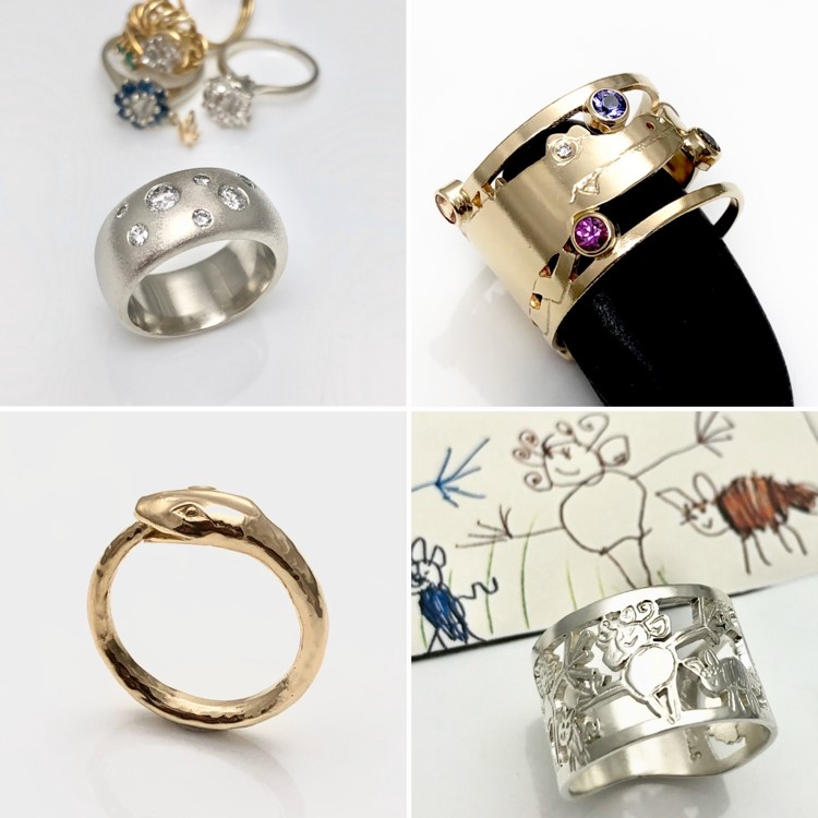 Christmas gift ideas rings in so many customized ways and styles