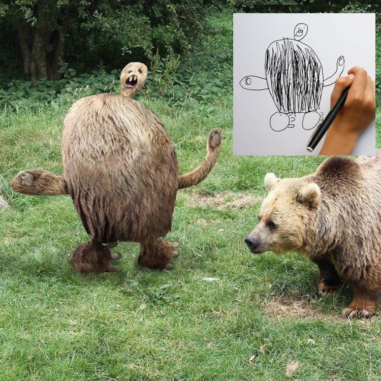 Hilarious, The bear story made by kids