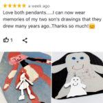 Love both pendants, wear memories from my now grown sons