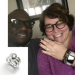 We are thrilled with the ring that Mia designed for our engagement