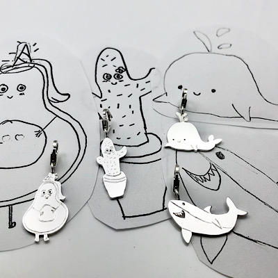 How charming! Obsessed with your little ones doodles? We have ideas for you to enjoy them every day!