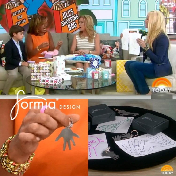 Today show tbt featuring key chain from Formia Design on NBC