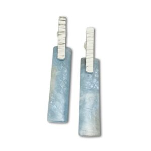 Aquamarine Pendulum Earrings for the woman with awesome taste in accessories.