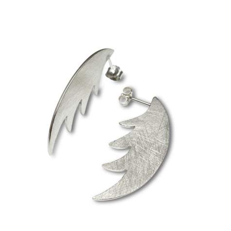 Wing Cutting Edge Earrings, Cool and interesting design for the modern woman
