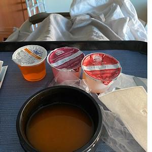 Hospital diet after abdominal surgery